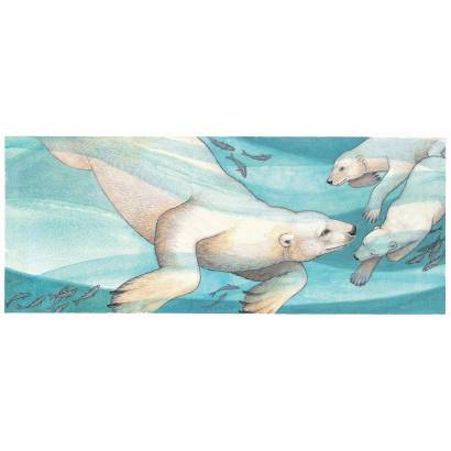Фотообои Белые медведи | арт.14384