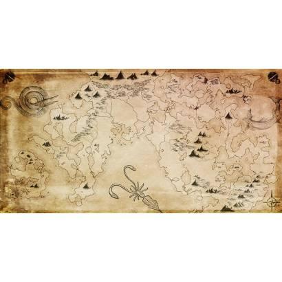 Фотообои Пиратская карта | арт.14390