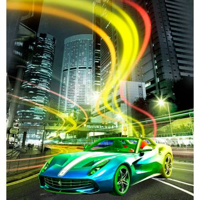 Фотообои Спортивный автомобиль | арт.14412