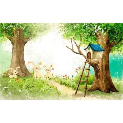 Фотообои Домик на дереве | арт.14417