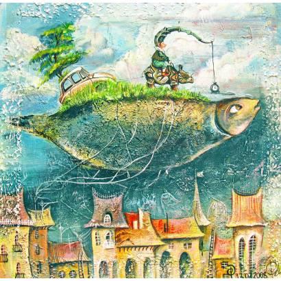 Фотообои Волшебная рыба | арт.14434