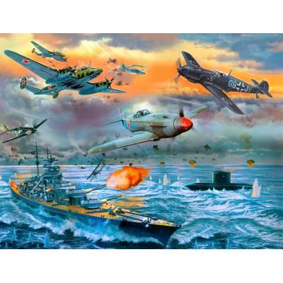Фотообои Битва над морем | арт.14445