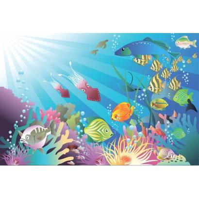 Фотообои Подводный мир | арт.1468