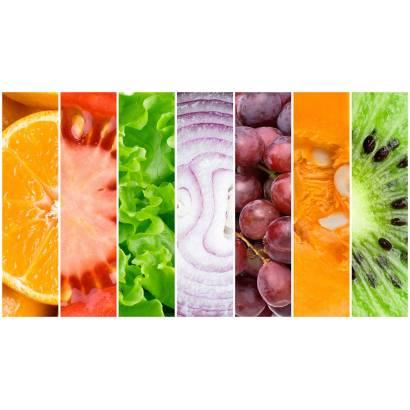Фотообои Фрукты и овощи. Коллаж | арт.15163