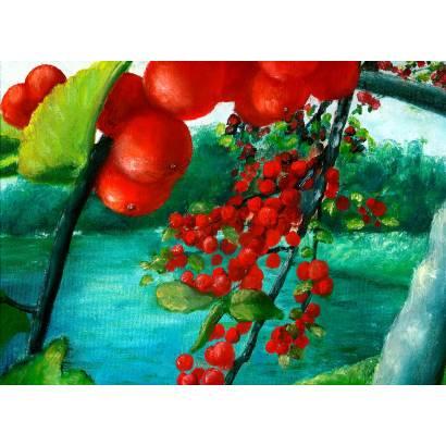 Фотообои Красные ягоды | арт.171