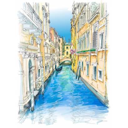 Фотообои Канал в Венеции | арт.17106