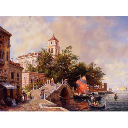 Фотообои Венецианское побережье. М Сатаров | арт.17115