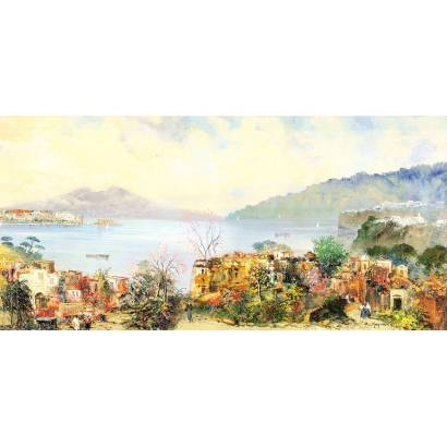 Фотообои Прибрежный город | арт.17117