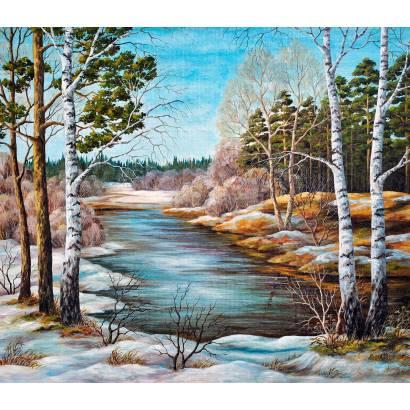 Фотообои Зима в лесу | арт.1714