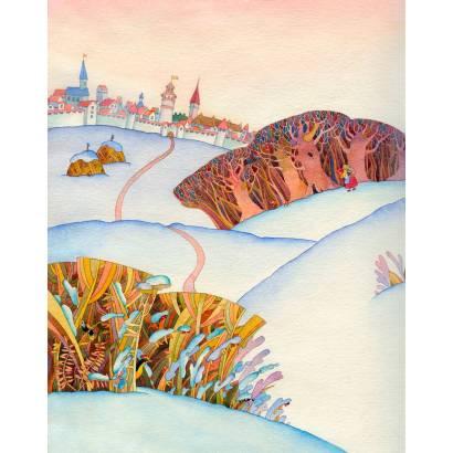Фотообои Сугробы снега | арт.1716