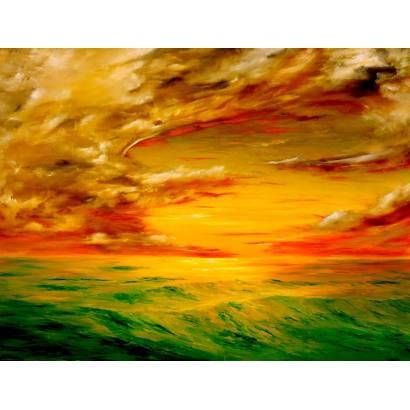 Фотообои Оранжевый закат | арт.172