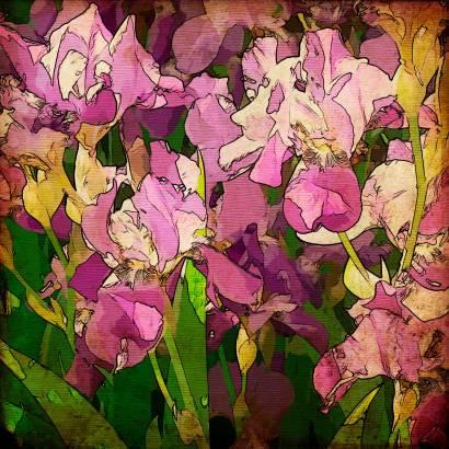 Фотообои Цветы арт | арт.1731