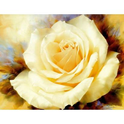 Фотообои Желтая роза | арт.1743