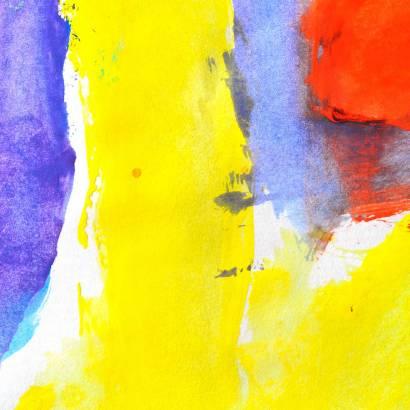 Фотообои Абстракция желто-фиолетовая | арт.1758