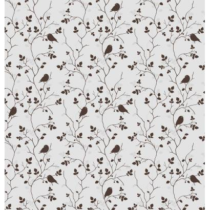 Фотообои Птицы на веточках Вектор | арт.1762