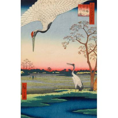 Фотообои Японская гравюра | арт.1764
