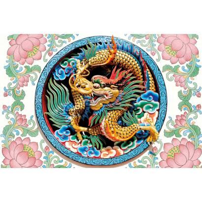 Фотообои Китайский дракон | арт.1773