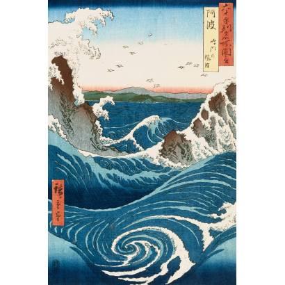 Фотообои Японская гравюра | арт.1780