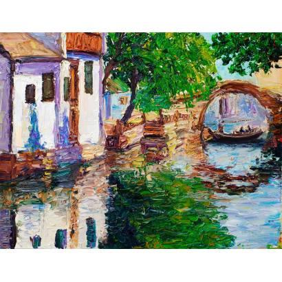 Фотообои Венеция Живопись | арт.179