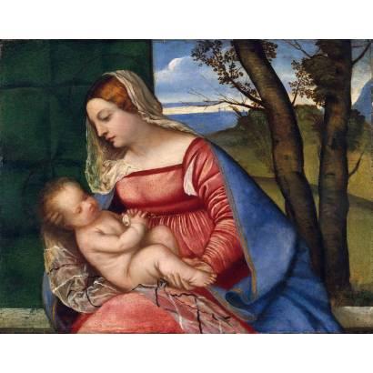 Фотообои Мадонна С Младенцем | арт.18105