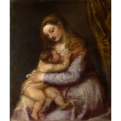 Фотообои Мадонна-Млекопитательница | арт.18109