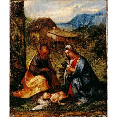 Фотообои Поклонение Младенцу Христу | арт.18110