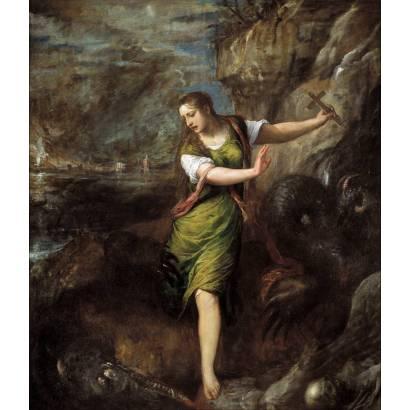 Фотообои Святая Маргарита | арт.18114