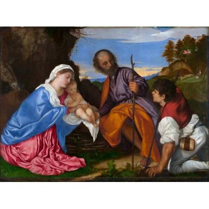 Фотообои Святое Семейство С Пастухом | арт.18115