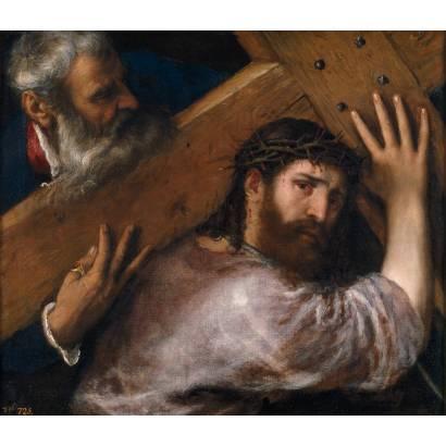 Фотообои Христос И Симон Киринейский | арт.18117