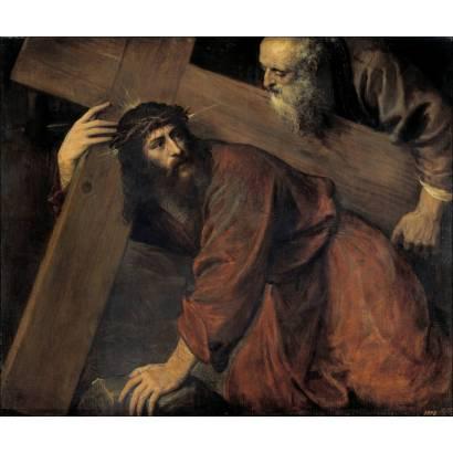 Фотообои Христос И Симон Киринейский | арт.18118