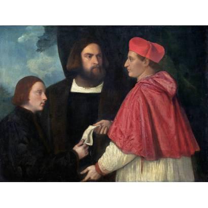 Фотообои Джироламо И Кардинал Марко | арт.18124