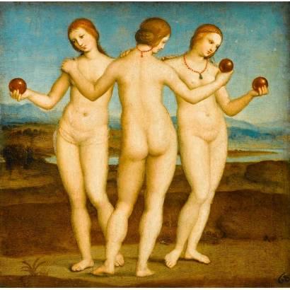 Фотообои Три Грации | арт.1813