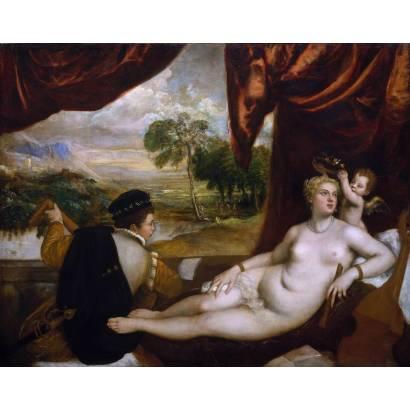 Фотообои Венера И Лютнист | арт.18138
