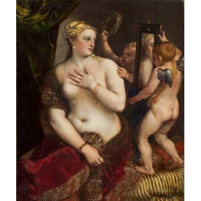Фотообои Венера Перед Зеркалом | арт.18139