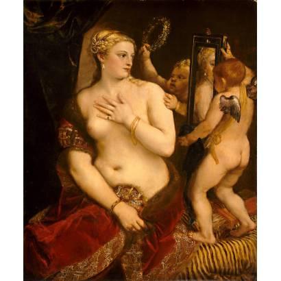 Фотообои Венера Перед Зеркалом | арт.18140