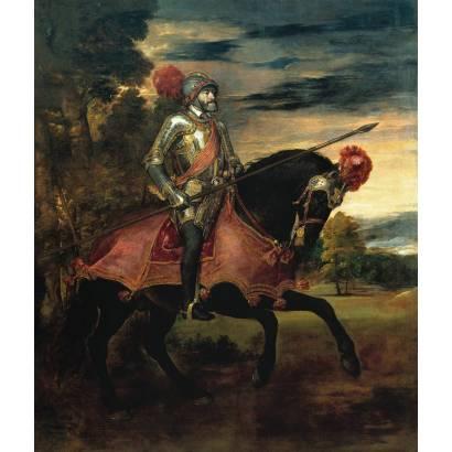 Фотообои Конный Портрет Императора Карла V | арт.18141