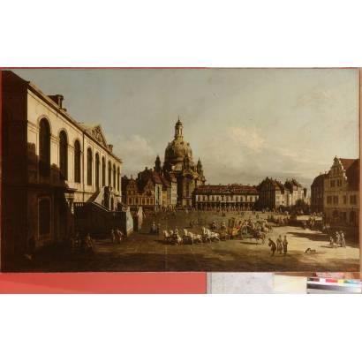 Фотообои Площадь Нового Рынка В Дрездене | арт.18152