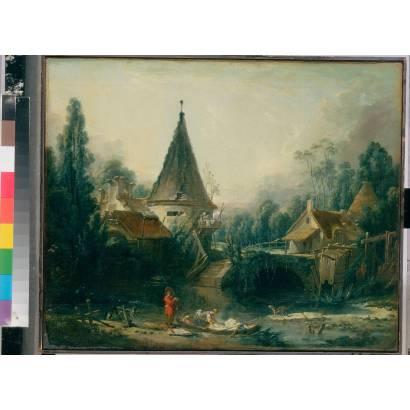 Фотообои Пейзаж В Окресностях Бовэ | арт.18156