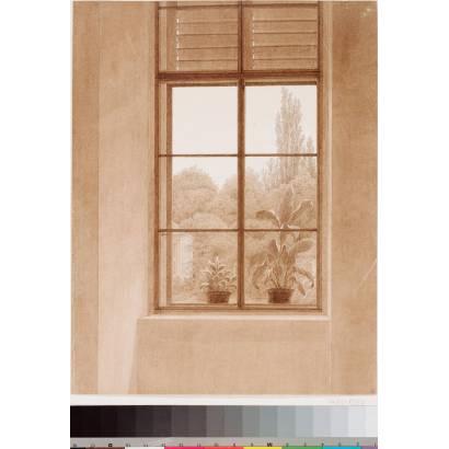 Фотообои Окна Глядящие В Парк | арт.18181
