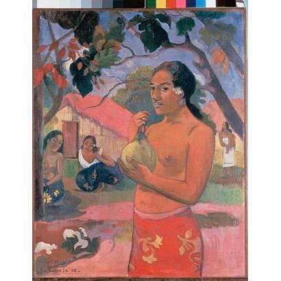 Фотообои Женщина, Держащая Плод | арт.18191