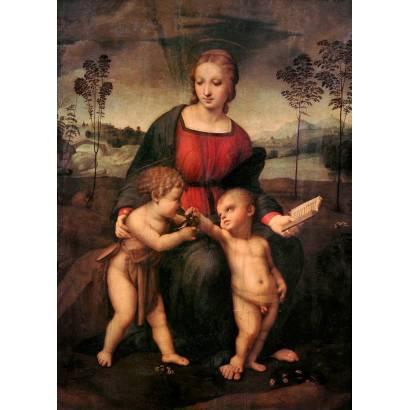 Фотообои Мадонна Со Щеглом | арт.1822