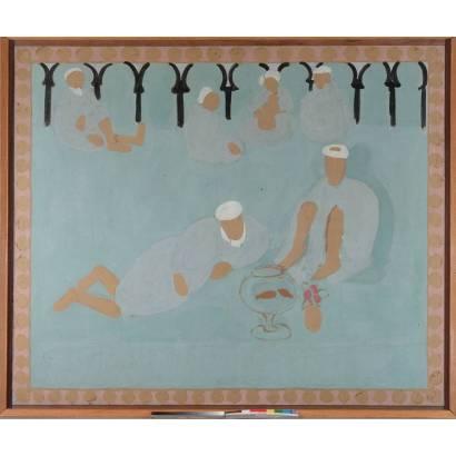 Фотообои  Арабская Кофейня | арт.18225