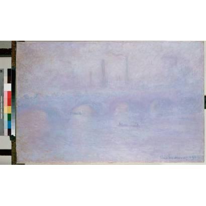 Фотообои Мост Ватерлоо. Эффект Тумана | арт.18237