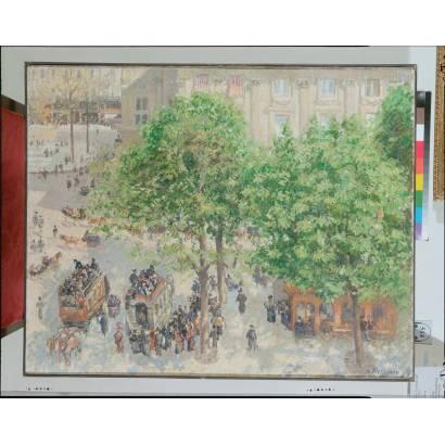 Фотообои Площадь Фрацузского Театра В Париже | арт.18246