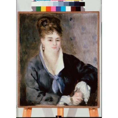 Фотообои Дама В Черном | арт.18258