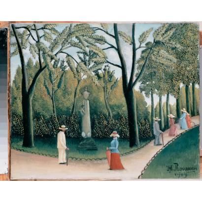 Фотообои Люксембургский Сад. Памятник Шопену | арт.18263
