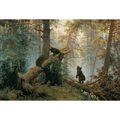Фотообои Утро В Сосновом Бору | арт.18269