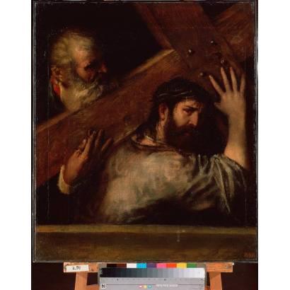 Фотообои Несение Креста | арт.18273