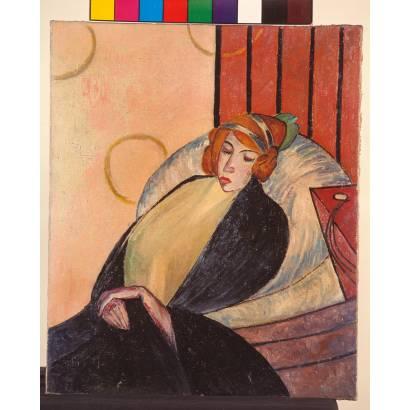 Фотообои Woman On A Chair   арт.18278