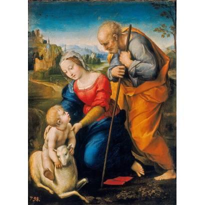 Фотообои Святая Семья С Агнцем | арт.1828